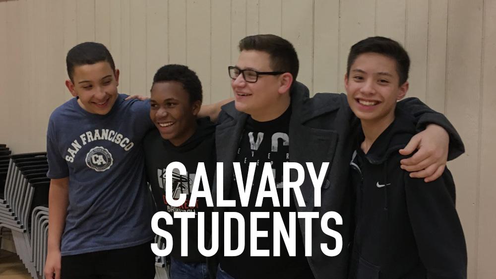 CALVARY STUDENTS