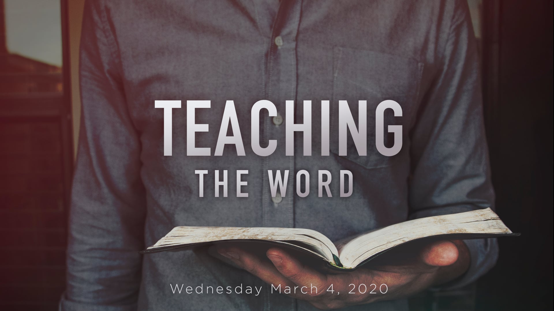 Teach the Word