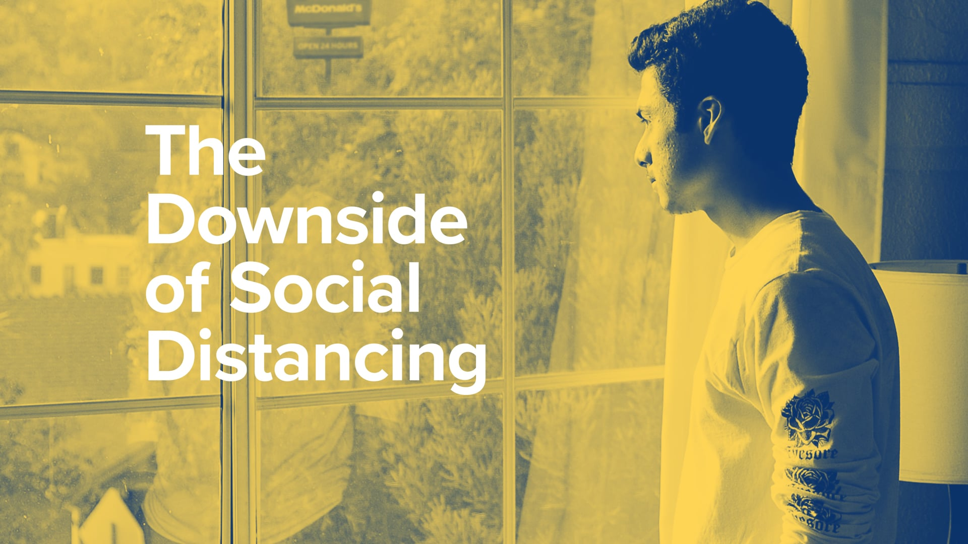 The Downside of Social Distancing