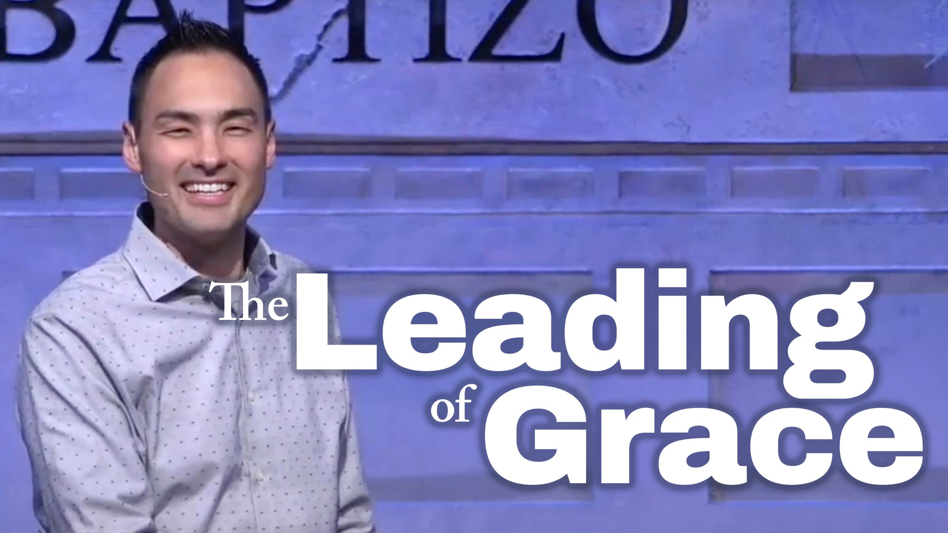 The Leading of Grace
