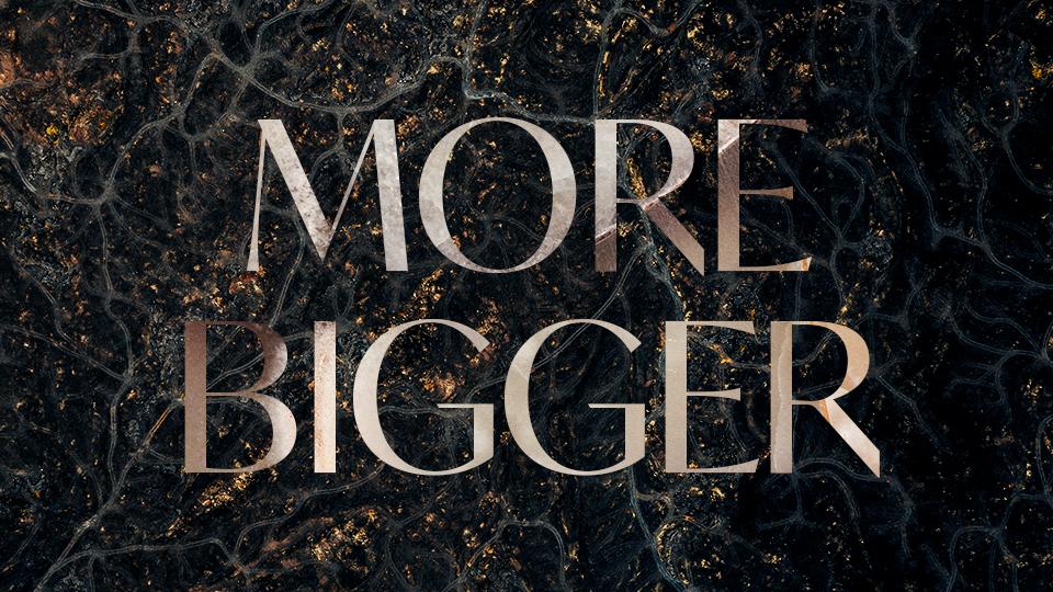 MORE BIGGER