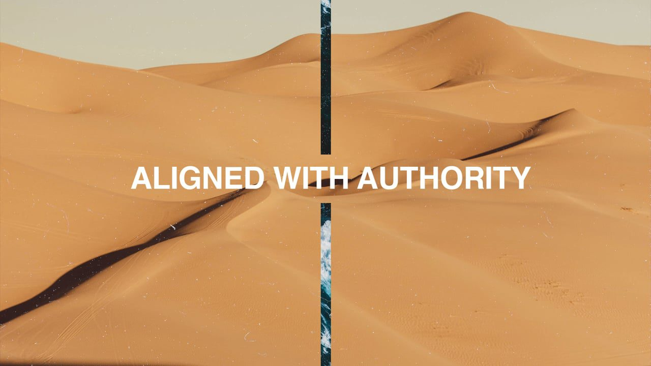 Aligned with Authority